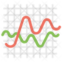 Sine Wave Sinusoid Mathematical Curve Icon