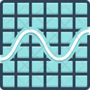 Sine Wave Graphic Frequency Waveform Icon