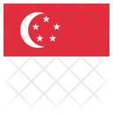 Singapore National Country Icon