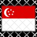 Singapore Flag Flags Icon