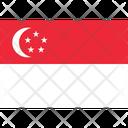 Flag Country Singapore Icon