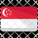 Singapore Flag Country Icon