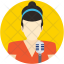 Singer Musician Artist Icon