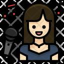 Singer Vocalist Woman Icon