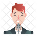 Singer Artist Avatar Icon