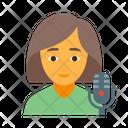 Singer female Icon