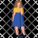 Female Singer Singing Artist Icon