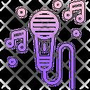 Singing Mic Icon