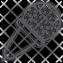 Singing Mic Microphone Media Icon