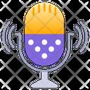 Singing Mic Karaoke Mic Mic Icon