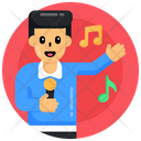 Singing Song Artist Singer Icon