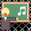 Singing Teacher Study Icon