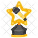 Singing Trophy Icon