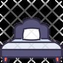 Single Bed Sleep Icon