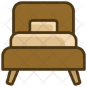 Single Bed Bed Sleep Icon