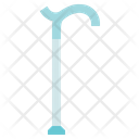 Physiotherapy Single Cane Equipment Icon