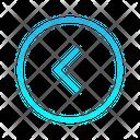 Single Chevron Left Zigzag Top Right Arrow Arrows Icon