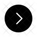 Single Chevron Right Arrow Direction Icon