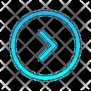 Single Chevron Right Zigzag Top Right Arrow Arrows Icon