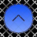 Single Chevron Top Icon