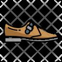 Single Monk Shoes Icon