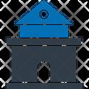 Single Storey House Icon
