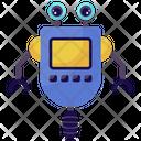 Single Wheel Robot One Wheel Robot Mechanical Robot Icon