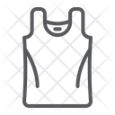 Singlet Clothes Casual Icon