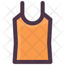 Clothes Singlet Night Dress Icon