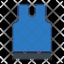 Singlet Cloth Gym Icon