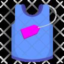 Singlet Shirt Man Icon