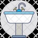 Sink Kitchen Bathroom Icon