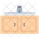 Sink Water Cupboard Icon