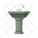 Sink Wash Basin Faucet Icon