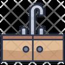 Sink House Kitchen Icon
