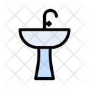 Sink Faucet Bath Icon