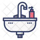 Sink Water Faucet Icon