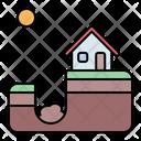 Sinkhole Sink Hole Icon