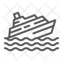 Sinking Ship Disaster Icon