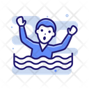 Sinking Ocean Emergency Icon