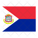Sint Maarten Flag Flags Icon