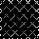 Sinusoid Formula Cosine Icon