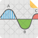 Sinusoidal Graph Icon