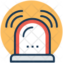 Emergency Siren Alarm Icon