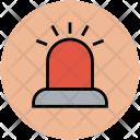 Siren Emergency Light Icon