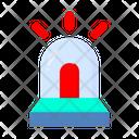 Siren Emergency Ambulance Icon