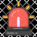 Alarm Danger Signal Police Siren Icon