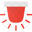 Emergency Alarm Fire Icon