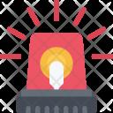 Flasher Siren Light Icon