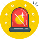 Siren Warning Security Icon